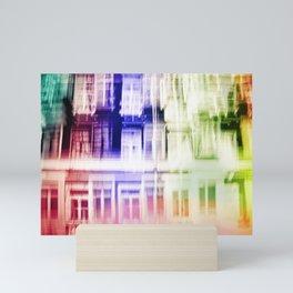Color windows Mini Art Print