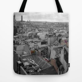 Paris Urban Fabric Tote Bag