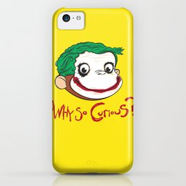 Why So Curious? iPhone Case