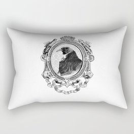 Old Black Crow Rectangular Pillow