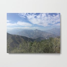Los Padres Mountain View Metal Print