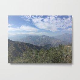 Los Padres Mountain View Metal Print