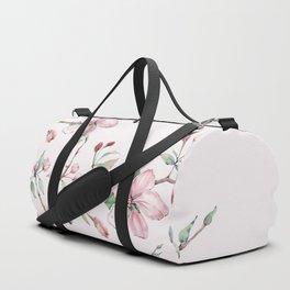 Apple Blossom Pink #society6 #buyart Duffle Bag