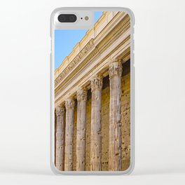 The Pantheon in Rome Italy Clear iPhone Case