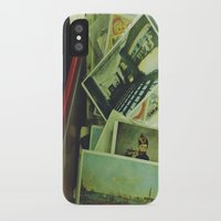 monet iPhone & iPod Cases featuring monet boy by n o a h