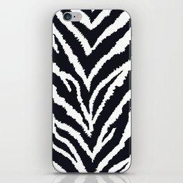 Zebra fur texture iPhone Skin