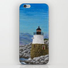 Newport Harbor Lighthouse iPhone & iPod Skin