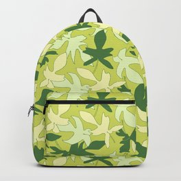 Philodendron Florida Ghost Rare Tropical Plant Pattern Backpack