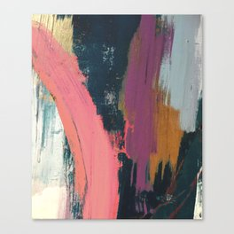 Anywhere: a bold, colorful abstract piece Canvas Print