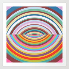 Shapes #41 Art Print