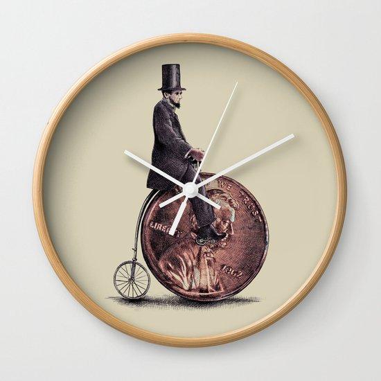 Penny Farthing  Wall Clock