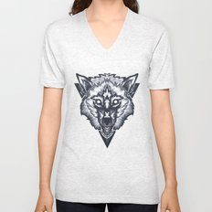 Wolf 2 Unisex V-Neck