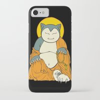 snorlax iPhone & iPod Cases featuring Snorlax by Yamilett Pimentel