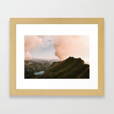 Far Views II - Landscape Photography Framed Art Print