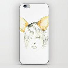 Chihuahua girl iPhone Skin