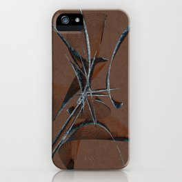 Stone Curve Abstract iPhone Case