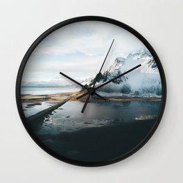 Iceland Adventures - Landscape Photography Wall Clock