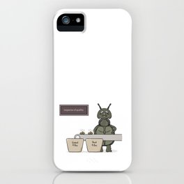 bug as a inspector of quality iPhone Case