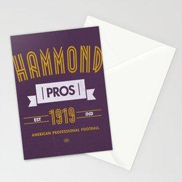 Hammond Pros Stationery Cards