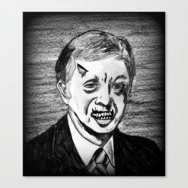 39. Zombie Jimmy Carter  Canvas Print