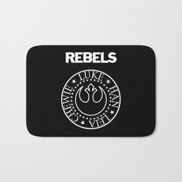 I Wanna Be a Rebel Bath Mat