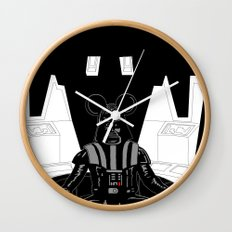 Episode V — Vador Mouse Chambers Wall Clock
