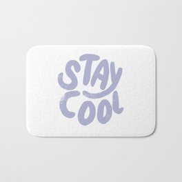 Stay Cool Vintage Lavender Bath Mat