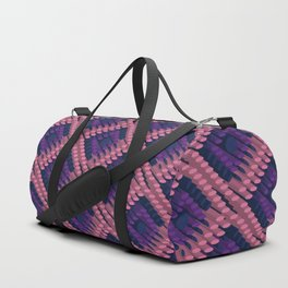 3D Dotted BG Duffle Bag