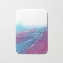 Frequency of the Mountains Bath Mat