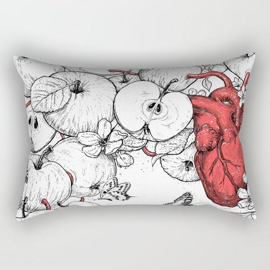 coronary apples Rectangular Pillow
