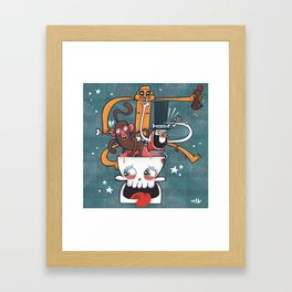 Do You Voodoo? Framed Art Print