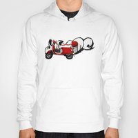 vespa Hoodies featuring Vespa by absoluca