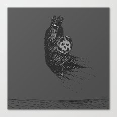 Floating Viking Canvas Print