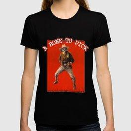 Vintage Skeleton Cowboy Artwork T-shirt