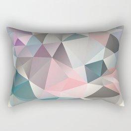 Polygon abstract 1 Rectangular Pillow