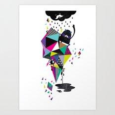 Creepy World Art Print