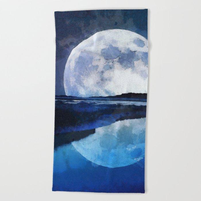 Reflection Beach Towel