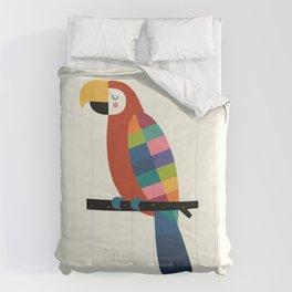 Rainbow Parrot Comforters