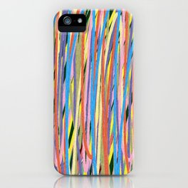 Artsy, Crazy & Hazy iPhone Case