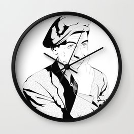 Jimmy Stewart Wall Clock