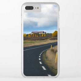 I.C.E.L.A.N.D - Ring Road Clear iPhone Case