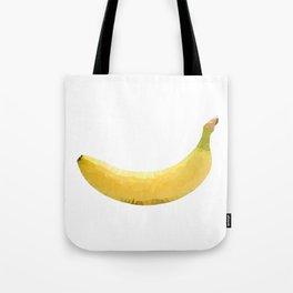 Low poly banana Tote Bag