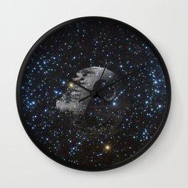 storm moon Wall Clock