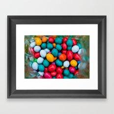 Chocolates candies Framed Art Print