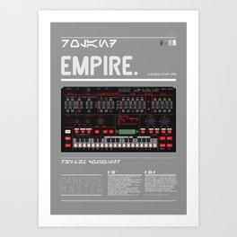 202_EMPIRE MASTER Art Print