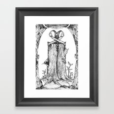 Haunted Clothing- The Eternal Wooden Pants Framed Art Print