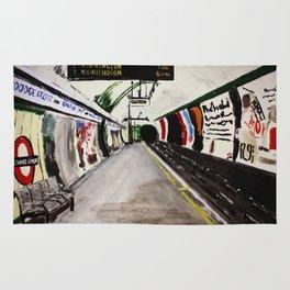 London Underground Goodge Street Rug