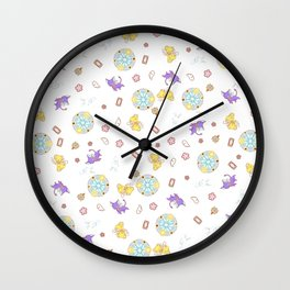 cardcaptor sakura magical pattern Wall Clock