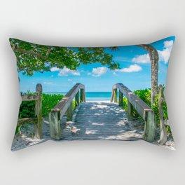 9th Street Bridge Rectangular Pillow