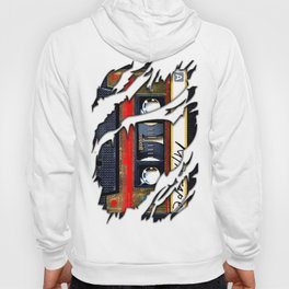 Retro cassette mix tape Hoody
